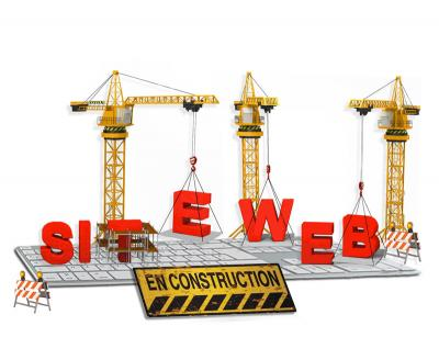 Site en construction web